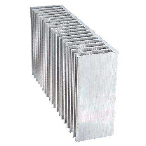 ELEGIANT Cooling Module, 7.1x3.9x1.8inch Aluminum Heat Sink Heatsink Cooler Fin for High Power LED Amplifier Transistor by ELEGIANT (Image #6)