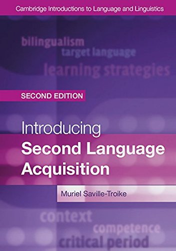 Introducing Second Language Acquisition Second edition: Paperback