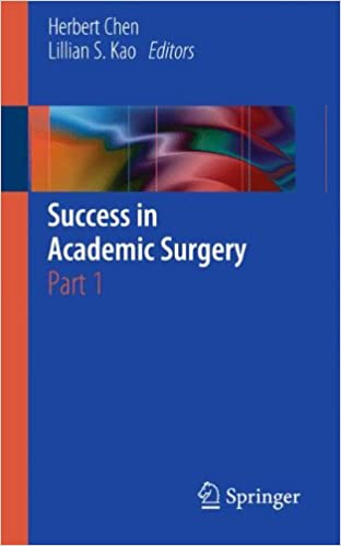Success in Academic Surgery: Part 1.