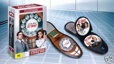 Get Smart (Limited Edition 2-Disc DVD with Bonus Shoe Phone DVD Case) by Warner Home Video (Telephone High Heel)