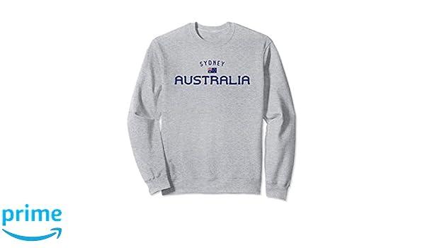 Australia Aussie Hoodie Pullover Australian Distressed Country Crest