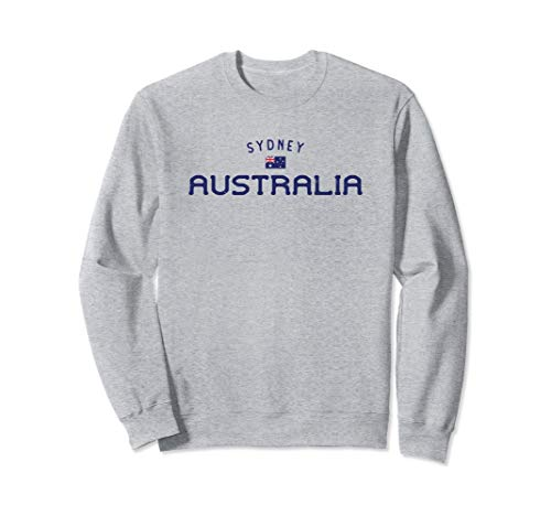 Sydney Australia Sweatshirt Distressed Aussie Design (Map Of Sydney Australia And Surrounding Area)
