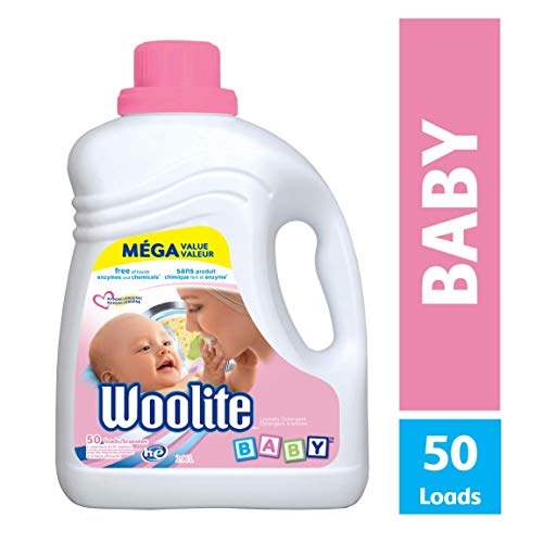 Woolite Baby Hypoallergenic Laundry Detergent, Mega Value Pack, 2.96 L
