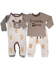 Rene Rofe Ropa Bebe niño –Conjunto para Bebe niño, 3 Piezas, Mameluco, Sudadera y Pants