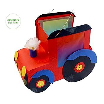 Laternen Bastelset Traktor 33 X 28 Cm 3 Stück Amazon De Spielzeug