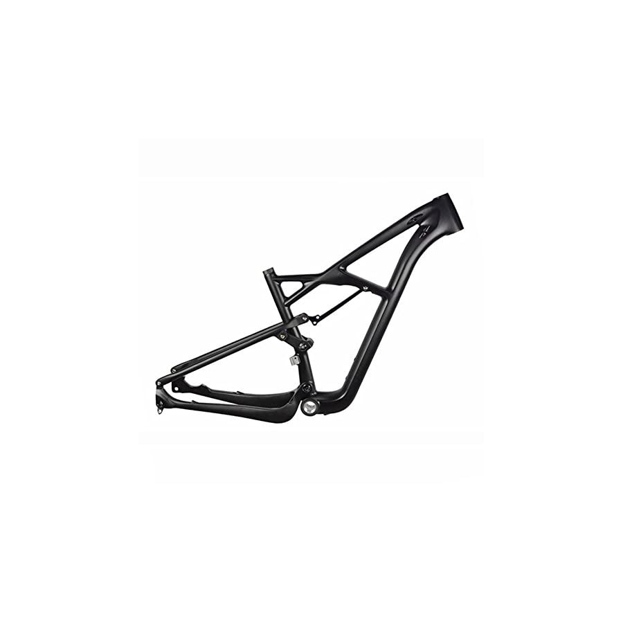 Carbon Full Suspension Frame 29er Carbon MTB Bicycle Frame 142x12mm Thru Axle Mountain Bike Full Suspension Frame