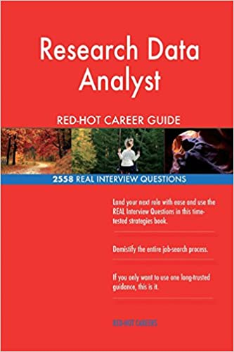 Buy Research Data Analyst Red-Hot Career Guide