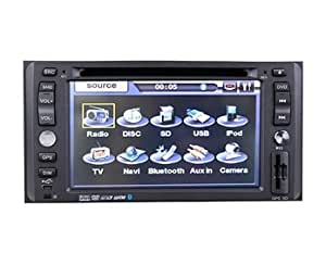 """6.2"""" Car DVD Player For Toyota 2006-2007 with GPS IPOD Analog TV Bluetooth RDS AVIN EMS Shipping"""