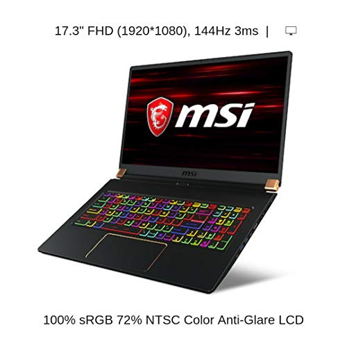 """HIDevolution MSI GS75 8SG Stealth 17.3"""" FHD 144Hz Gaming Laptop 