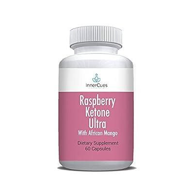 InnerCues Raspberry Ketone Ultra 600mg - Dietary Supplement - 60 Caps