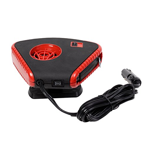 12 Volt Dc Auto Portable Heater Fan Defroster With Light