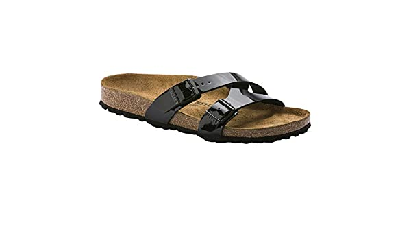 fbf97a5ec Birkenstock Unisex Yao Balance Birko-Flor Black Sandals 8 W   6 M US   Amazon.ca  Shoes   Handbags