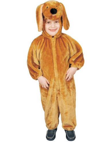 Dress Up America Sensational Plush Brown Puppy Costume