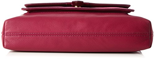 Fossil Kinley - Borse a tracolla Donna, Rot (Raspberry Wine), 8.89x22.86x33.02 cm (B x H T)
