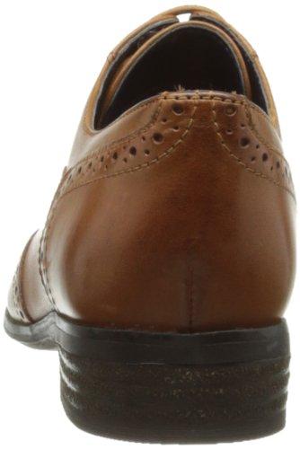 Clarks Hamble Oak - Zapatos de cuero para mujer Marrón (Dark Tan Lea)