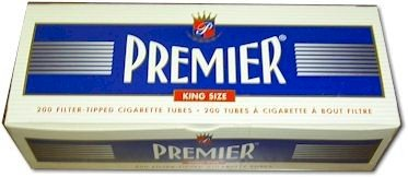 (50) Fifty Boxes of Premier Supermatic Full Flavor King Size Tubes - 200ct Box - FULL CASE! by Premier supermatic