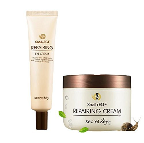 Secret Key Snail +EGF Repairing Cream& Eye Cream 2pc set