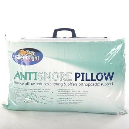 Silentnight Anti-Snore Pillow.