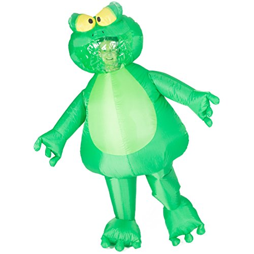 Bodysocks Adult Inflatable Frog Fancy Dress Costume -