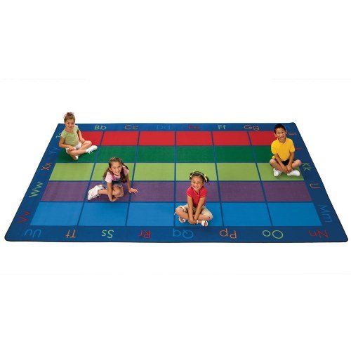 Carpets for Kids Colorful Seating Places Kids Rug Rug Size: 7'6 x 12' - Colorful Places Seating Rug