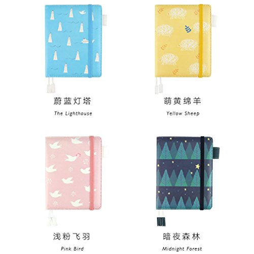 Note For A6 Pu Leather Notebook Planner Schedule Diary Journal Note Book Plan