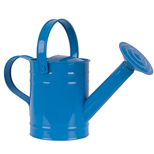 Twigz Kids Gardening Watering Can - Steel - Blue by Twigz