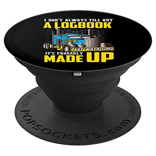 Funny Truck Driver Big Rig Trucks Popsockets Grip And Stand For Phones And Tablets