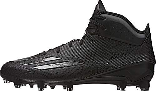 adidas Adizero 5-Star 5.0 Mid Mens Football Cleat 13 Black