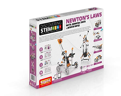 (Engino Discovering STEM Newton's Laws Inertia, Momentum, Kinetic & Potential Energy Construction)