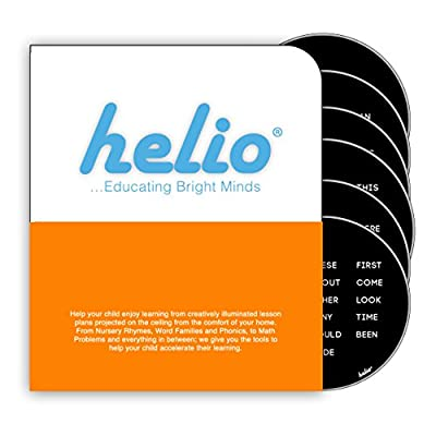 Helio Educational Base Station Sight Words Disc Set 1: Toys & Games