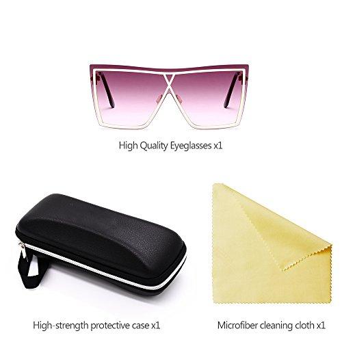 Mujer Estilo 07 XFentech sol y UV400 de Hombre para Gafas de Unisex PwaRqvY