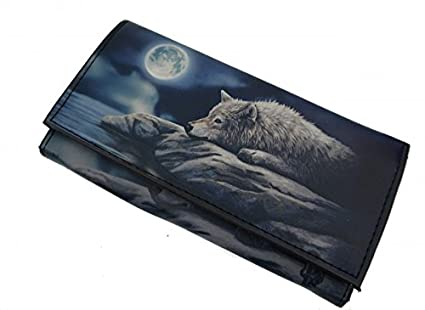 3d5da9f51486f Geldbörse Quiet Reflection Wolf Brieftasche Portemonnaie Geldbeutel   Amazon.de  Küche   Haushalt