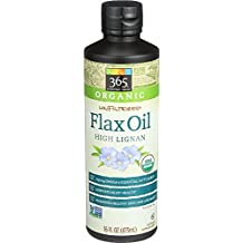 365 Everyday Value, Organic Unfiltered Flax Oil High Lignan, 16 fl oz