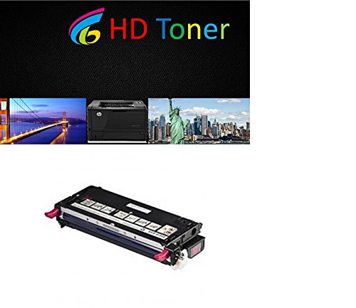HD Toner High Yield Replacement for Xerox Phaser 6280 Printer Toner Magenta Cartridge for use in Xerox Phaser 6280, 6280N, 6280DN Printers -