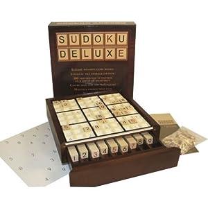 Wooden Deluxe Sudoku Board Game by Sudoku Board