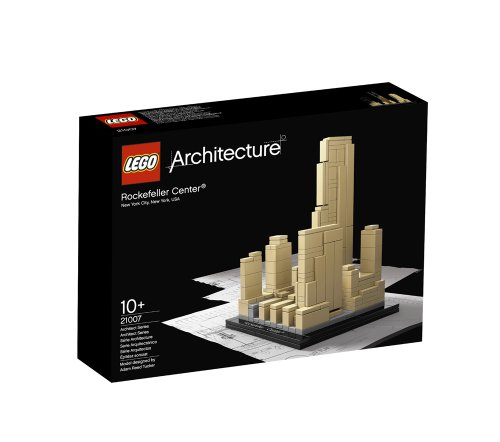 LEGO Architecture Rockefeller Center (21007) (Lloyd Center)