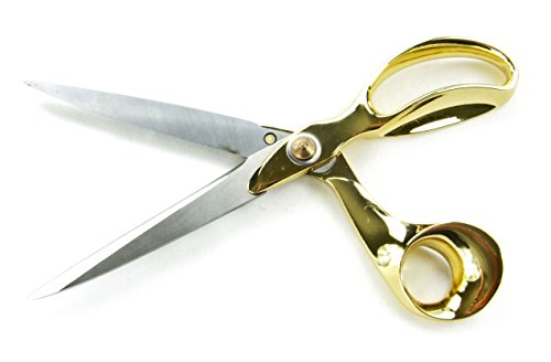 Drency Stainless Steel Sewing Scissors. High Duty Dressmaker's Tailor Shears. 11 Inch