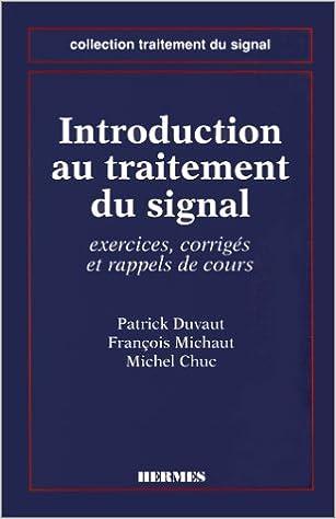 Livres gratuits en ligne Introduction au traitement du signal - exercices, corrigés et rappels de cours epub pdf