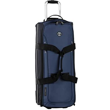 Timberland Luggage Claremont 28 Inch Wheeled Duffle, Blue/Navy/Black, One Size