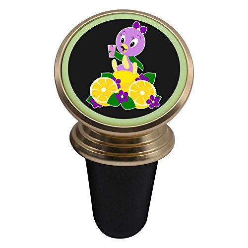 Hei Bai.J Think Violet Thoughts Magnetic Car Mount Holder,Universal 360 Rotation Magnetic Cell Phone Holder (Violet Think)