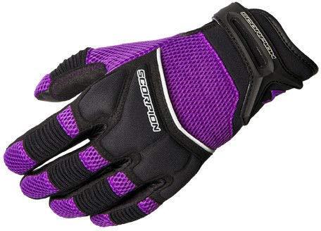 ScorpionExo Women's Cool Hand II Gloves(Purple, Small), 1 Pack
