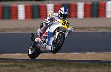 Kevin Schwantz Leggenda del MotoGP 34/ /Felpa con Cappuccio per Uomo Felpa con Cappuccio Blu