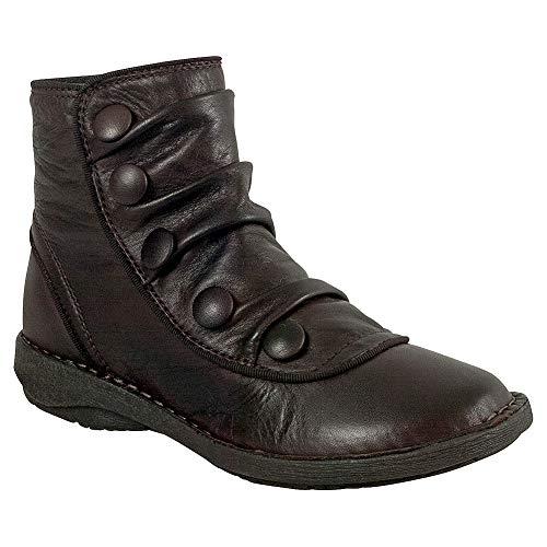 Miz Mooz Pumpkin Women's Ankle Boot Brown