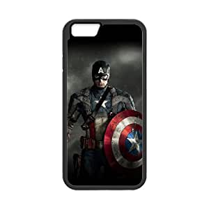 "TOSOUL Cover Shell Phone Case Captain America For iPhone 6 (4.7"")"
