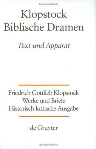 Download Werke und Briefe: Historisch-Kritische Ausgabe, Band 5: Biblische Dramen pdf epub