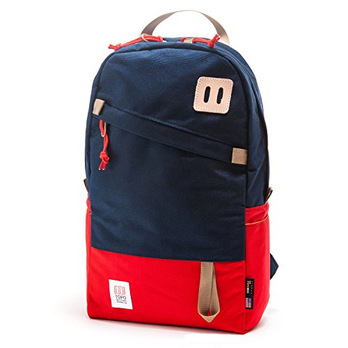 Topo Designs Daypack Red/Navy, One Size