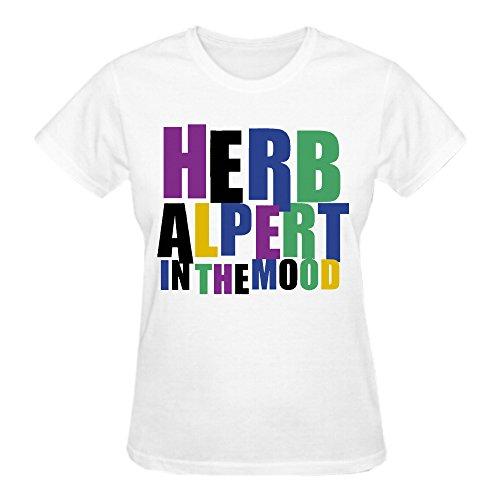 Patrick Long Sleeve Blouse - Herb Alpert In The Mood Women T-Shirt White