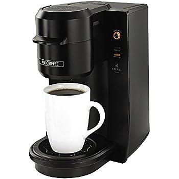 Mr. Coffee Single Serve 9.3 oz. Coffee Brewer, Black