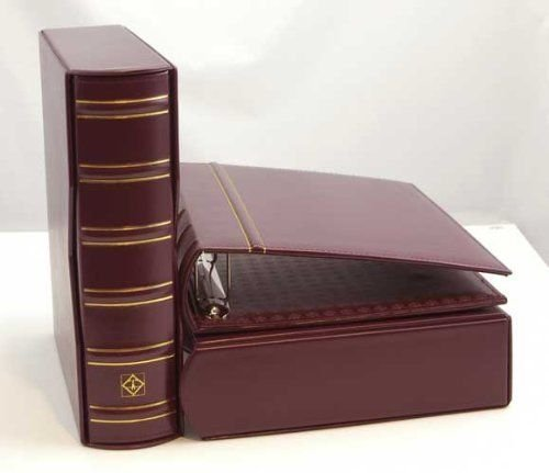 Lighthouse Vario-G Classic Binder with Slipcase, Burgundy (2)