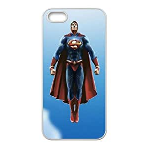 Flying Superman iPhone 4 4s Cell Phone Case White phone component AU_508274